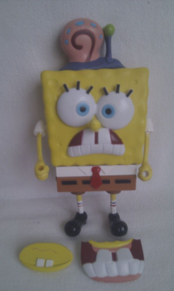 Adorable Build Up Spongebob Squarepants Amp Gary The Snail Toy